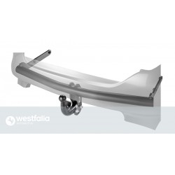 Westfalia Anhängerkupplung Peugeot Bipper + Teepee / Version: fest, geschraubte Kugelstange (F20)
