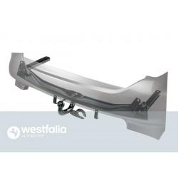 Westfalia Anhängerkupplung Audi A4 Avant / Version: fest, geschweisste Kugelstange (F10)