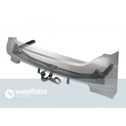 Westfalia Anhängerkupplung Audi A4 Limousine / Version: fest, geschweisste Kugelstange (F10)